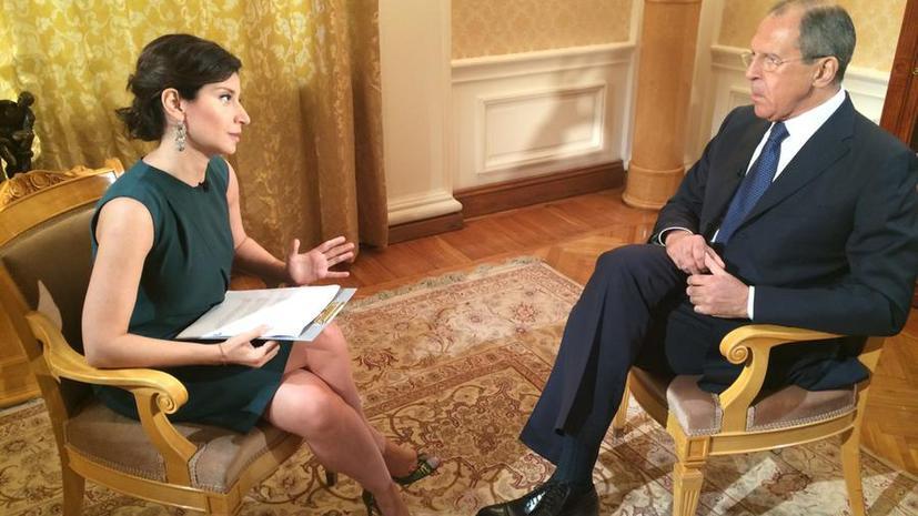 Интервью Сергея Лаврова RT: Ничего из того, о чём мы договорились в Женеве, киевские власти не выполнили