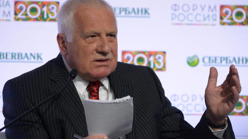 Бывший президент Чехии: Западу невыгодна дестабилизация ситуации в РФ