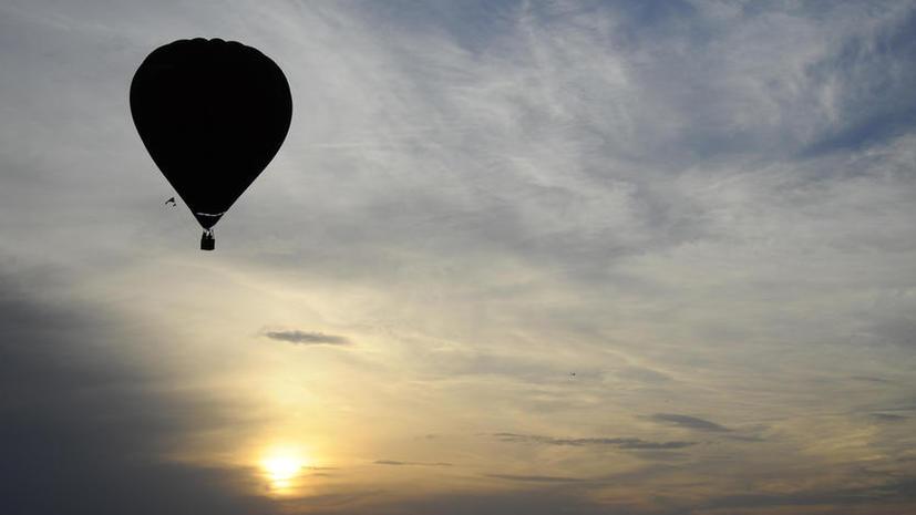 Китайский воздухоплаватель потерпел неудачу, попытавшись высадиться на спорной территории