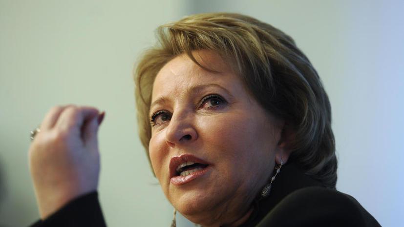 Валентина Матвиенко: графа «против всех» может вернуться в избирательные бюллетени