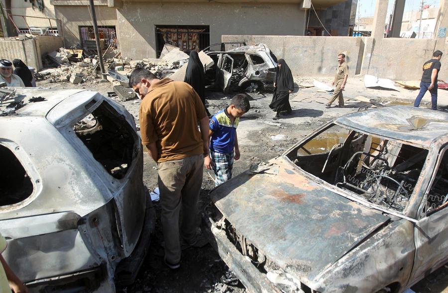 В результате серии взрывов в Багдаде погибли более 70 человек