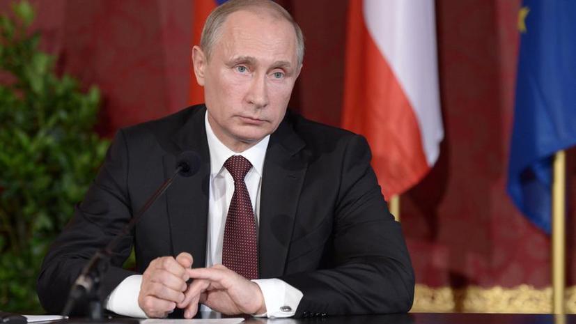 Владимир Путин высказался за продление срока прекращения огня на Украине