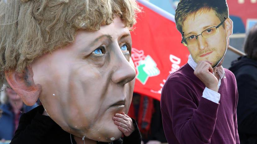 Власти Германии угрожают своим чиновникам судом за связи со Сноуденом