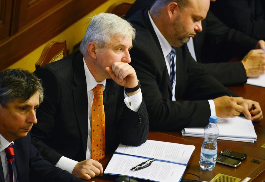 Парламент Чехии вынес вотум недоверия правительству Иржи Руснока