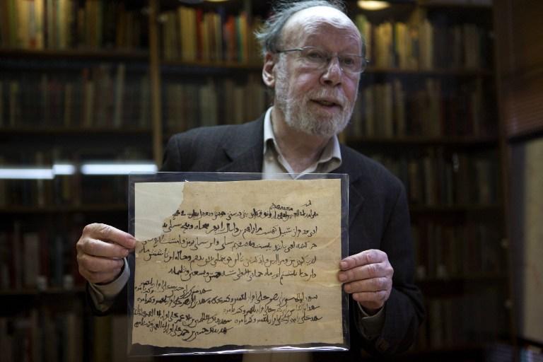 Библиотека Израиля приобрела манускрипты, найденные в лисьей норе в Афганистане