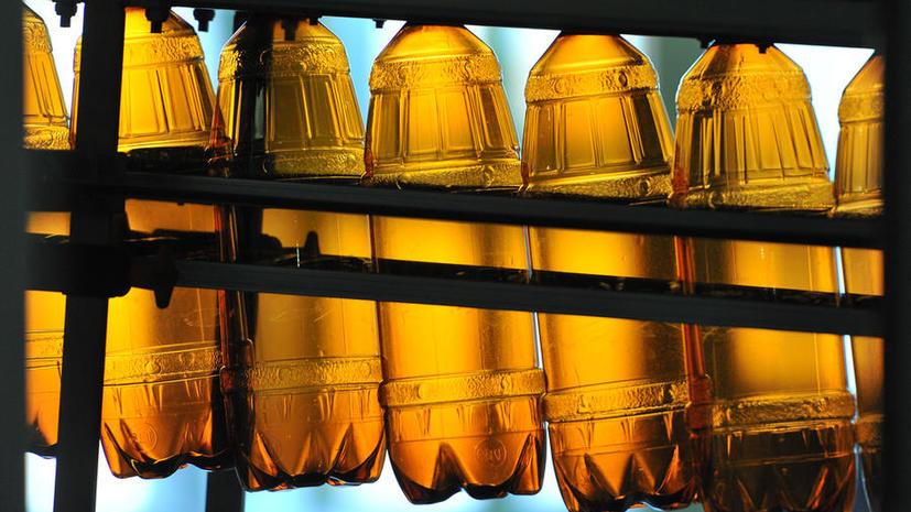 В России могут запретить пиво в «баклажках»