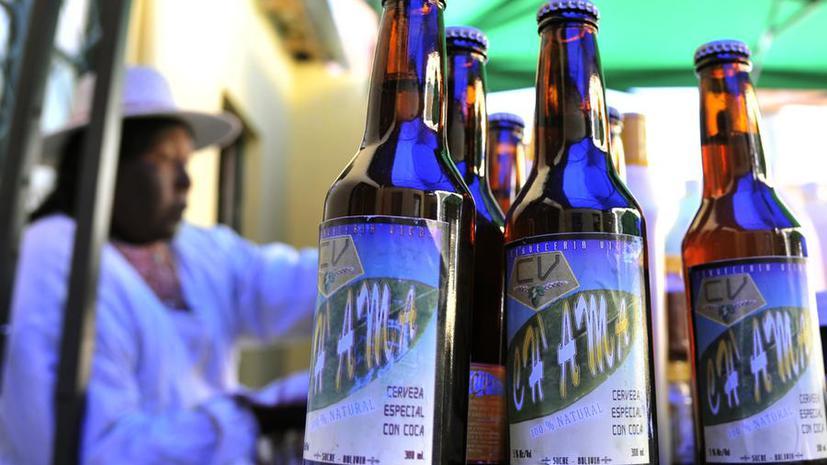 Пиво из листьев коки появилось в Боливии