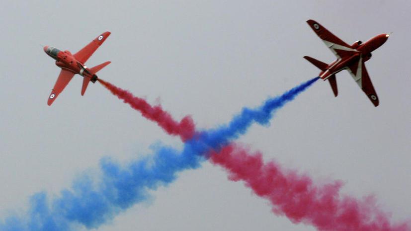 Великобритания не пускает россиян на авиасалон в Фарнборо из-за событий на Украине