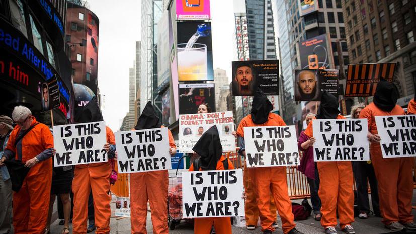 В США суд снял запрет на принудительное кормление заключённого Гуантанамо
