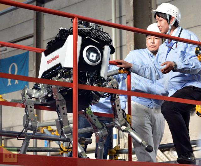 На Фукусиме приберется робот