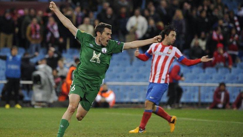 «Рубин» победил «Атлетико» в Мадриде