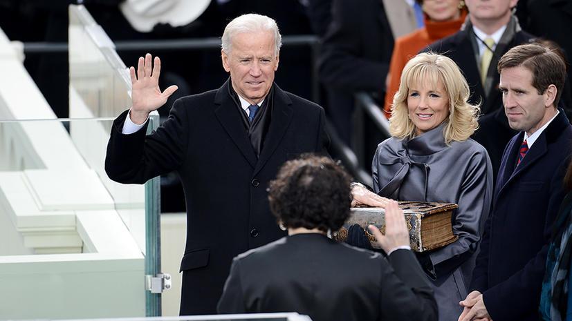 Джо Байден вновь оговорился и назвал себя президентом США
