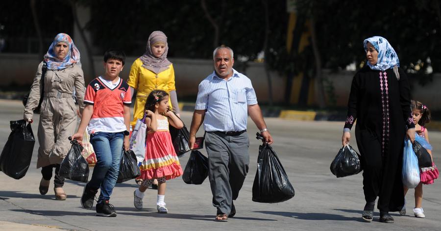 ООН: Число сирийских беженцев превысило 2 млн человек