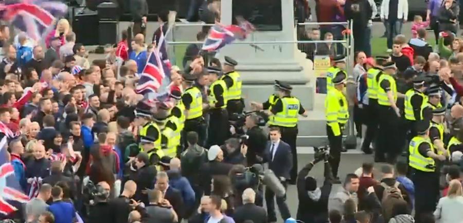 В Глазго прошли столкновения сторонников и противников независимости Шотландии