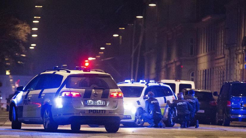 Полиция Дании проводит операцию по поимке подозреваемых в совершении двух нападений в Копенгагене