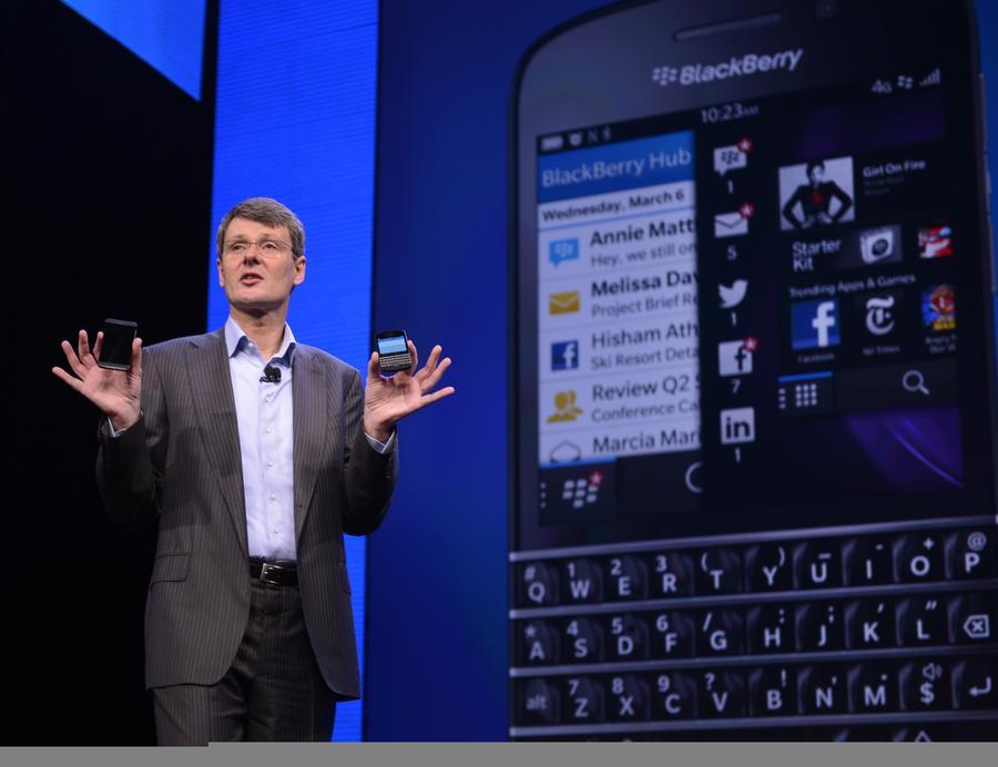 Директор BlackBerry пообещал продать десятки миллионов новых смартфонов Q10