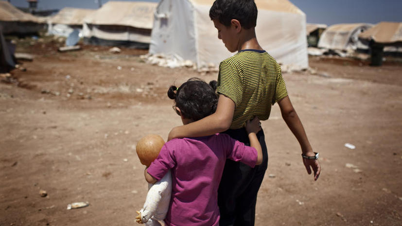 Число сирийских беженцев приближается к 2 млн