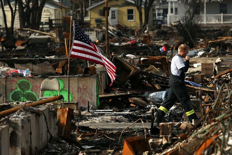 Власти Нью-Йорка угрожают жертвам урагана «Сэнди»