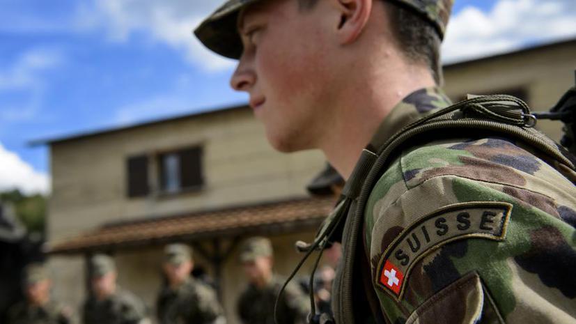 Швейцарцы решат, нужен ли им призыв в армию
