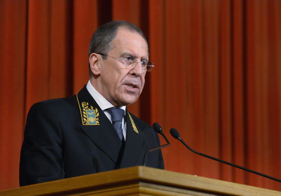 Сергей Лавров: Угрозы введения санкций против Украины похожи на шантаж