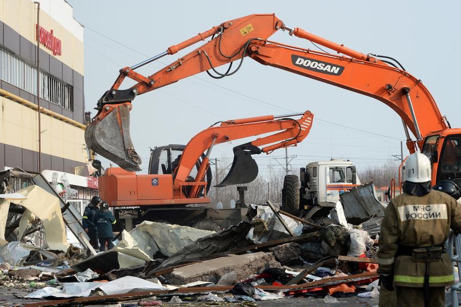 Пожар в Казани: число погибших достигло 14 человек