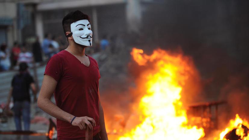 Хакеры Anonymous взломали сайт правительства Турции и получили доступ к личным данным сотрудников