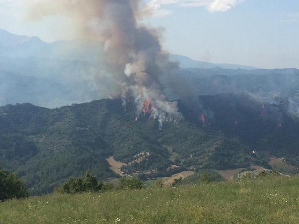 В Италии столкнулись и разбились два истребителя ВВС страны