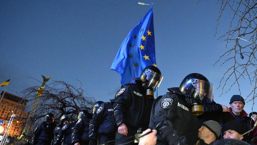 Депутаты парламента Украины от оппозиции собираются в центре Киева