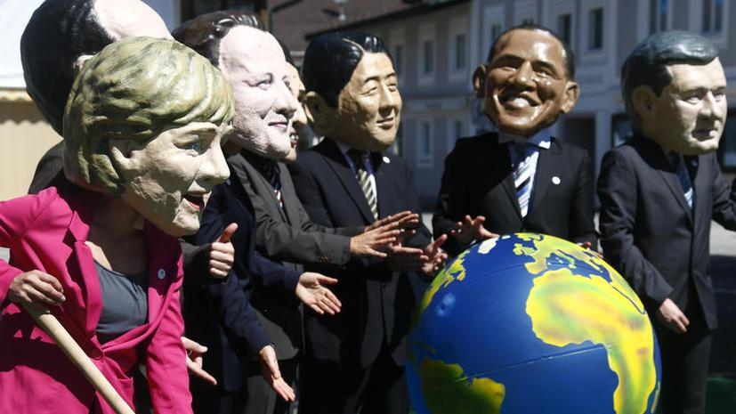 OpEdNews: На саммите G7 Меркель и Олланду стоит набраться смелости противостоять США