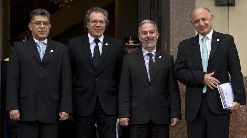 Страны Латинской Америки отозвали послов в Европе из-за инцидента с Моралесом