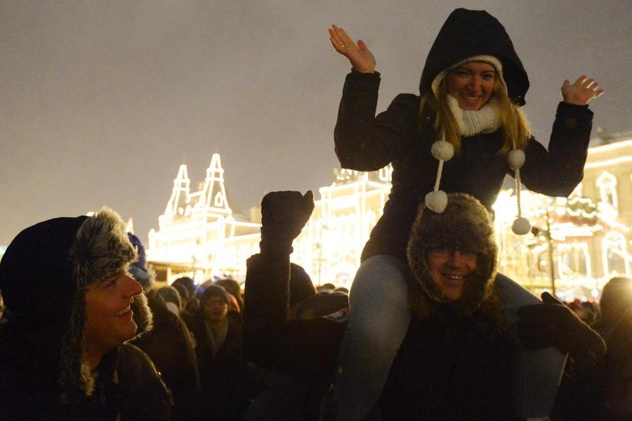 Россияне в Новый год удивили корреспондента CNN своим оптимизмом