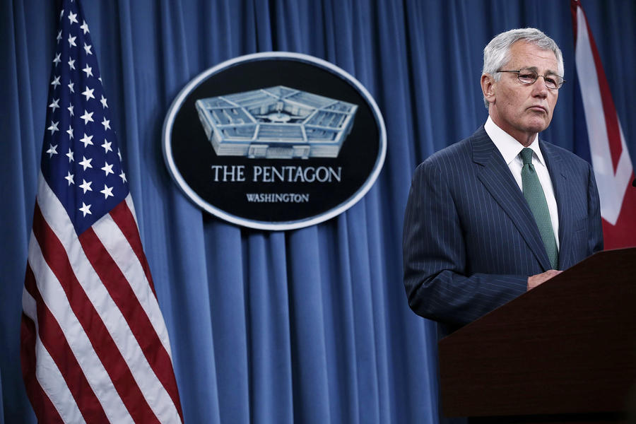 Министр обороны США: Администрация Обамы не исключает возможности начать поставки оружия повстанцам в Сирии