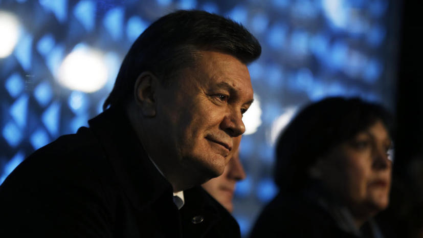 Советник Януковича: Отстранённый от должности президент находится на территории Украины