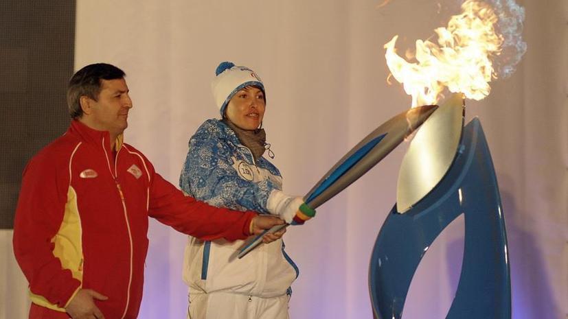 Паралимпийский огонь направляется в Сочи
