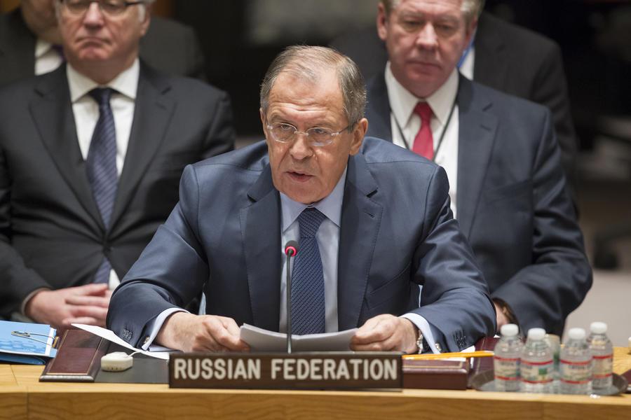 Сергей Лавров сегодня проведёт заседание Совета Безопасности ООН
