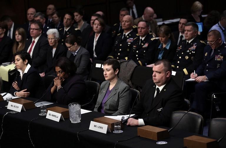 Изнасилованные американские военнослужащие дали показания в Сенате США