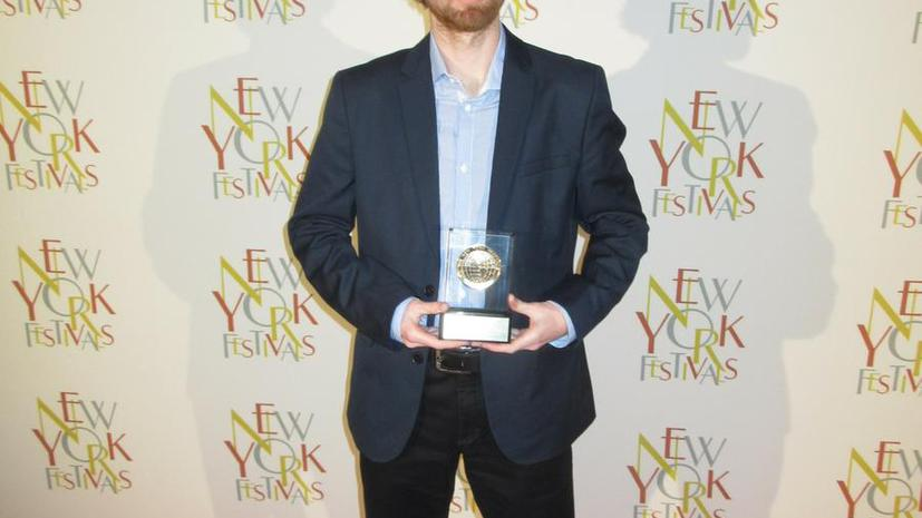 Телеканал RT получил золотую награду на фестивале New York Festivals