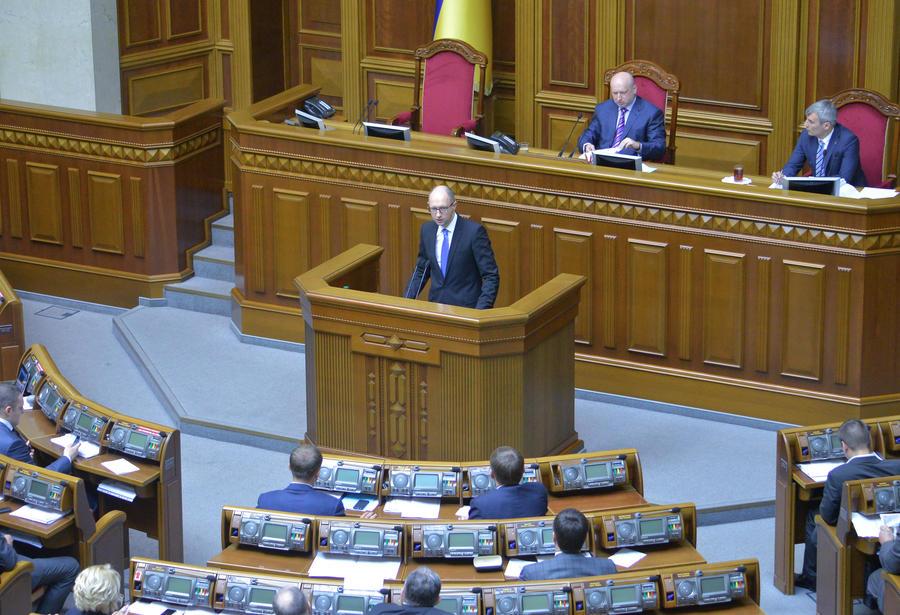 Украинский премьер Арсений Яценюк добился повышения налогов для населения