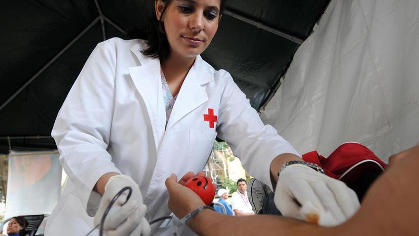 Врачи Красного Креста из Австрии  отказались от донорской крови мусульман