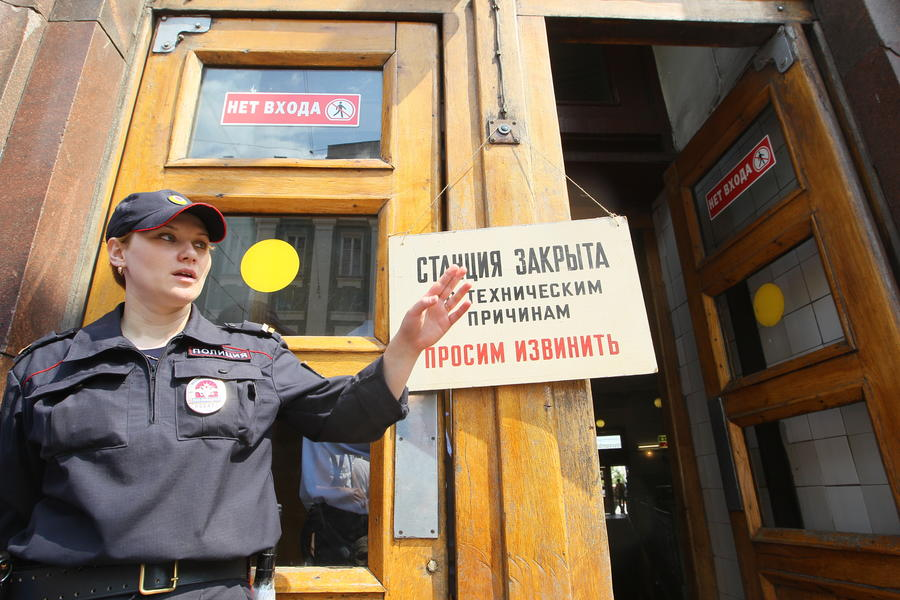 Шесть человек госпитализированы в результате сбоя в движении на «серой» ветке московского метро