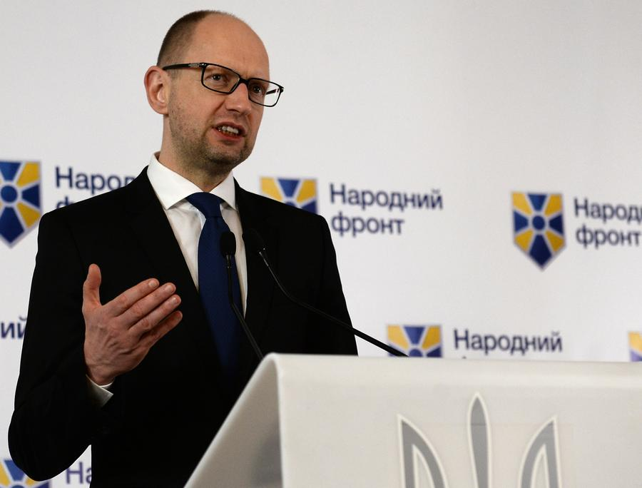 Партия «Народный фронт» Арсения Яценюка лидирует на выборах в Раду после обработки 50% бюллетеней