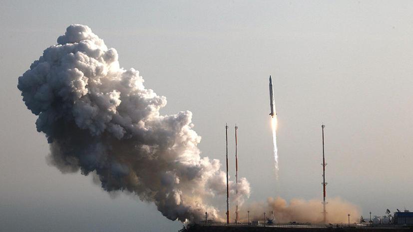 Российская ракета с иностранным спутником упала в Тихий океан