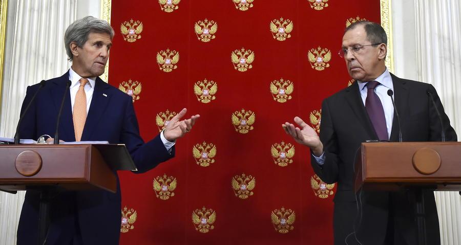 Сергей Лавров и Джон Керри: Согласны, что расшатывание отношений контрпродуктивно