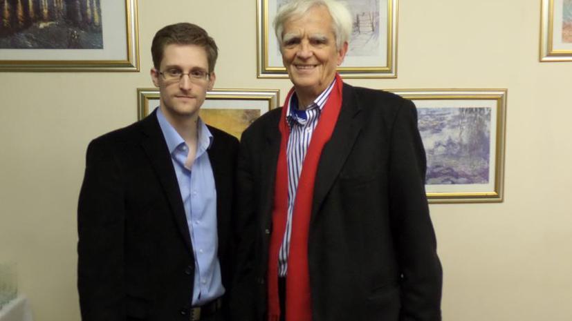 Поездка в Берлин может лишить Эдварда Сноудена российского убежища