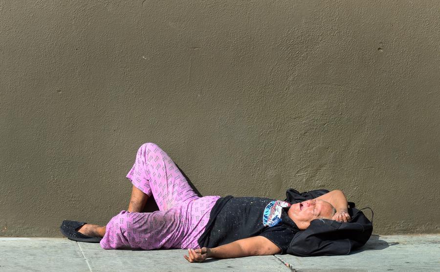 В Великобритании стремительно растёт число бездомных