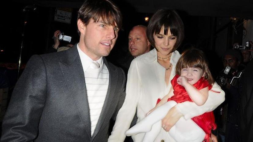 Семилетняя дочь Тома Круза создаст собственный бренд одежды