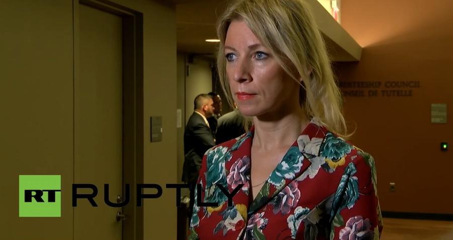 Мария Захарова: Вбросы СМИ о военной операции России в Сирии начались ещё до решения Совфеда