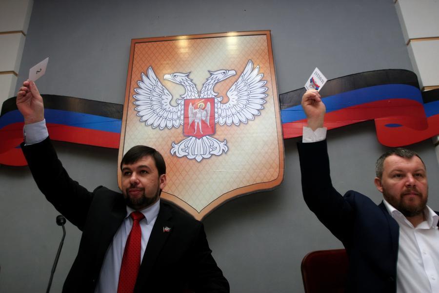 Денис Пушилин сменил Андрея Пургина на посту спикера парламента ДНР