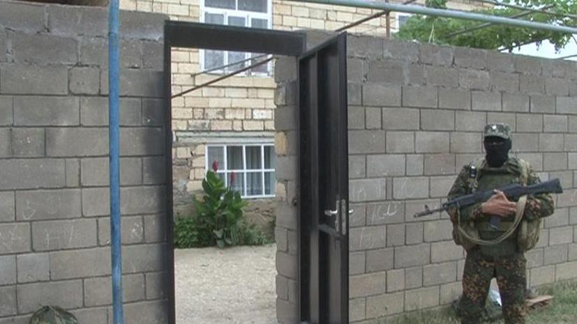 В Дагестане предотвращён крупный теракт против полицейских
