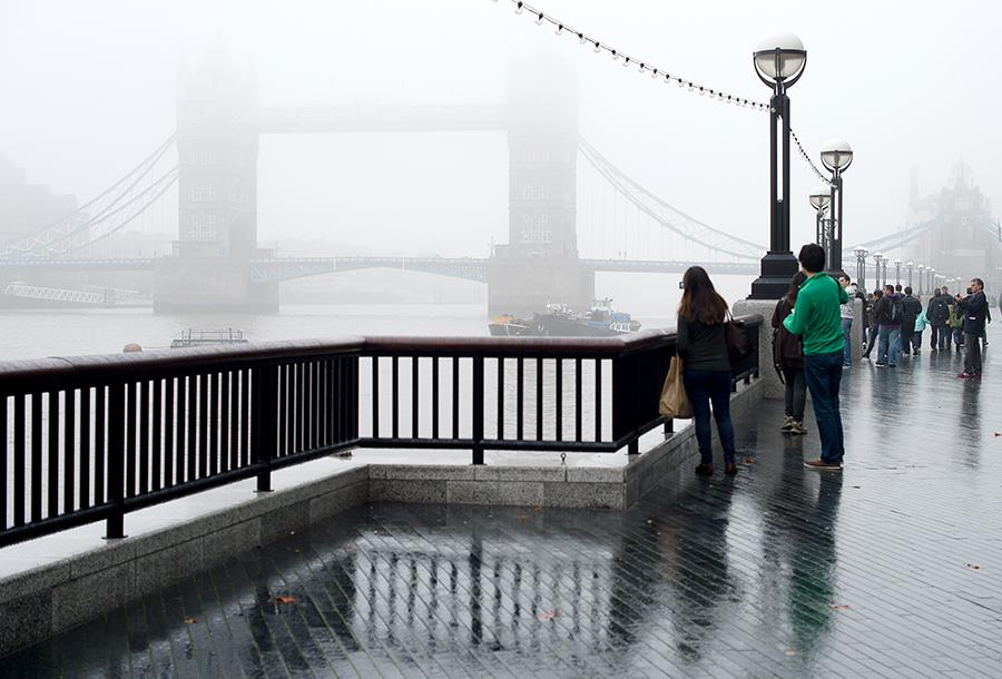 Облако газа из Франции добралось до Лондона
